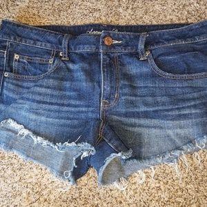 American Eagle jean shorts sz 14